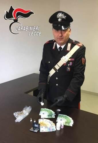 Arresto Picciolo - droga e soldi