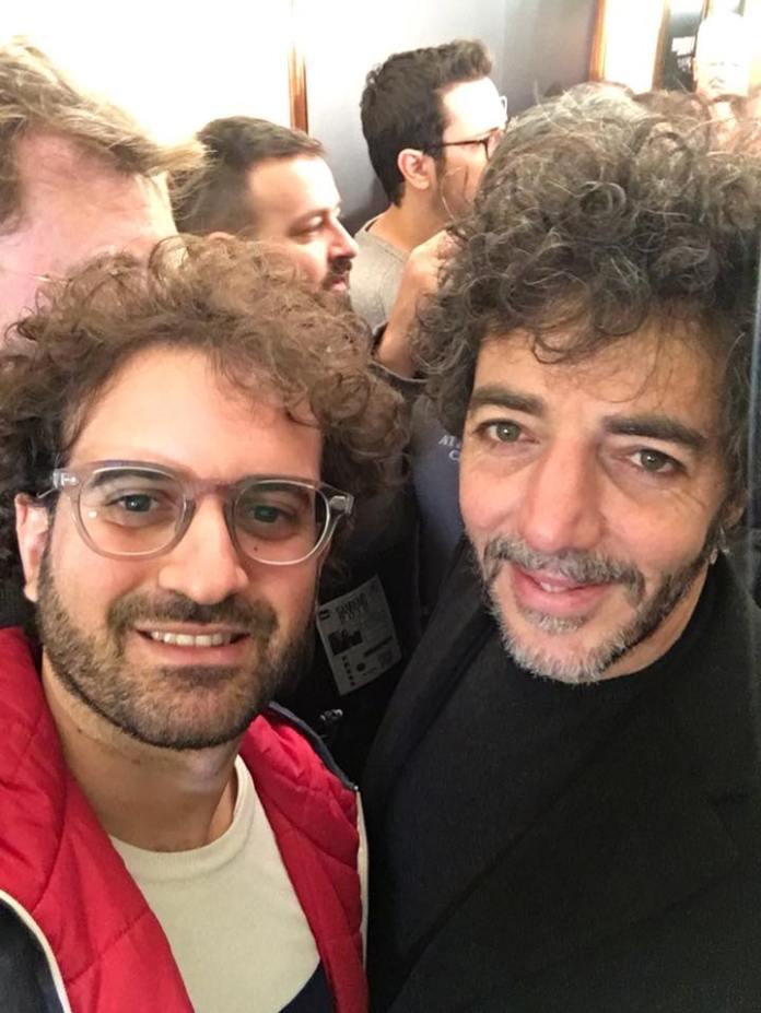 Gianpiero Pisanello con Max Gazzè