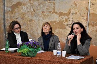 Pamela Lecci, Elsa Valeria Mignone, Sabrina Matrangola (foto Raffaele Leopizzi)