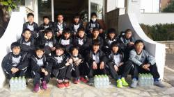 Prima squadra giapponese della storia del Trofeo Caroli Hotels
