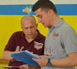 valentino mandolfo e coach olive
