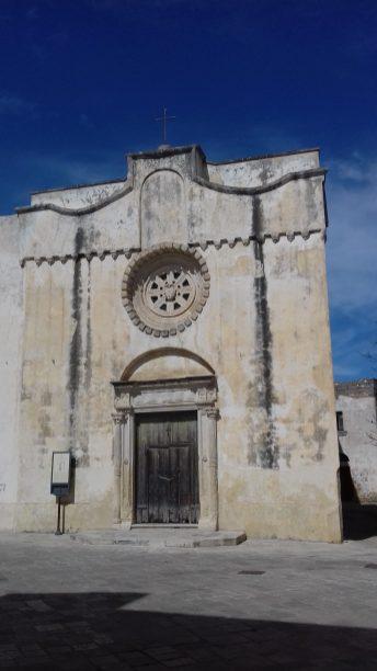 L'antica chiesa parrocchiale