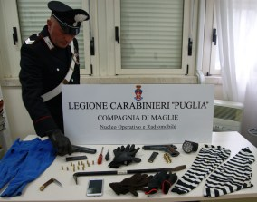 Attrezzi sequestrati dopo il furto a Neviano