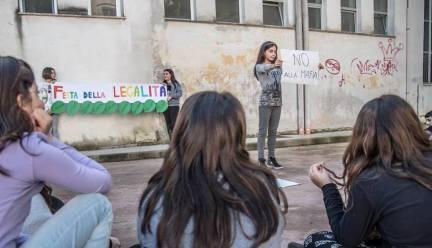 Parabita - progetto legalità a scuola inr icordo di Angelica Pirtoli