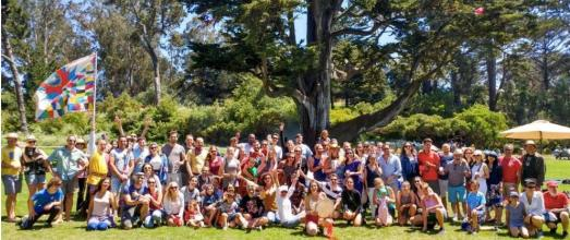 il gruppo Pugliesi in California