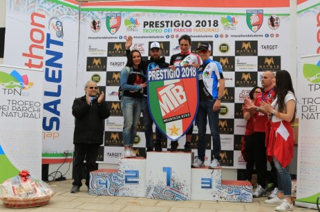 Il podio della Marathon 2018