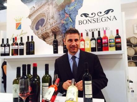 Alessandro Bonsegna, titolare cantine bonsegna