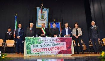I relatori della serata (foto Raffaele Leopizzi)