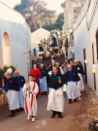 Gemini Ugento, Madonna delle Anime sante processione