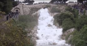 Leuca, la cascata monumentale