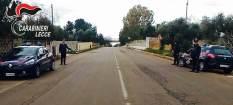 Carabinieri a Casarano