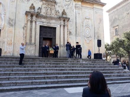 Tricase, i funerali di Jessy Maturo