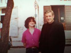 Silvana Zocco e don Tonino