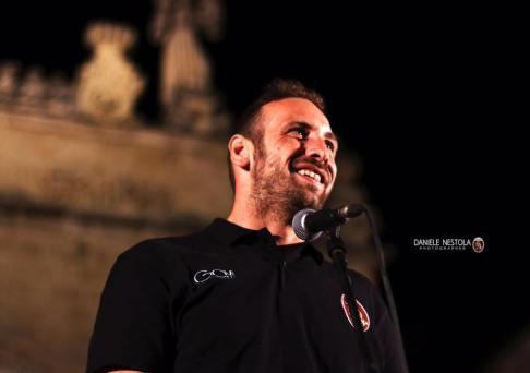 Alessio Antico, team manager ed ex difensore del Nardò