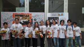 Aradeo, gli alunni vincitori delle due Olimpiadi
