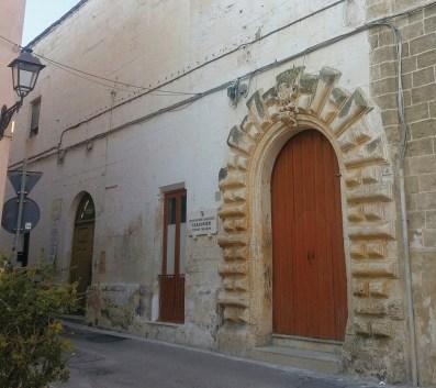 Parabita, l'ex sede comunale