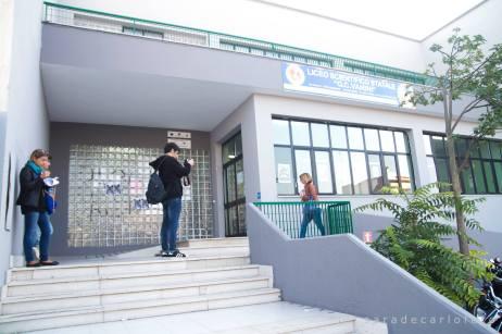 Liceo Vanini, la sede di via Sesia