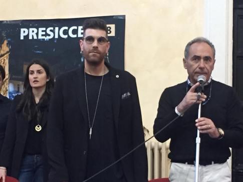Matteo Cazzato e il sindaco Monsellato