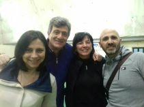 Società volley alezio sandra d'aprile - fabio giorgino - roberta casto - biagio primiceri