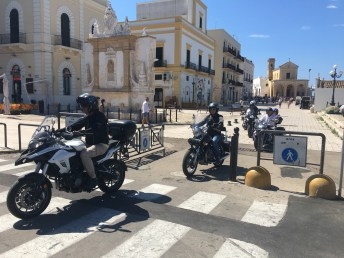 Harley partenza Gallipoli 2