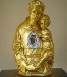 La reliquia di Sant'Antonio da Padova
