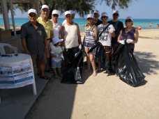 Lido Marini, pulizia litorale (3)