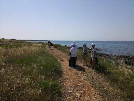 Lido Marini, pulizia litorale (4)