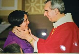 don Primaldo con Maria grazia Scigluzzo Borra