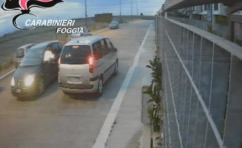 Omicidio De Rocco a Foggia: il momento dell'agguato in via Forcella