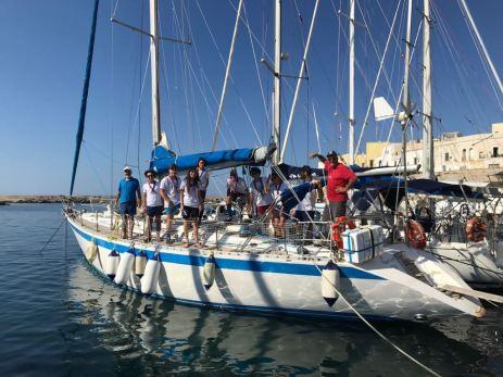 l'uscita in barca scout Lega Gallipoli