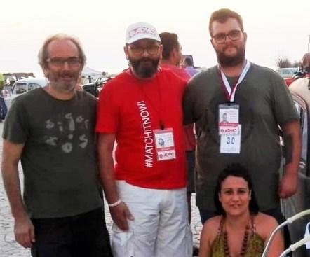 Alessandro Cataldi, Mauro Palamà, Stefano Schirinzi, Elisa Congedi
