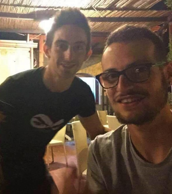Davide Biasco e Carmine Pedone