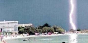 Il fulmine a Porto Cesareo