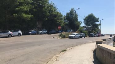 L'intersezione tra via Torre Santa Caterina e via Emanuele Filiberto