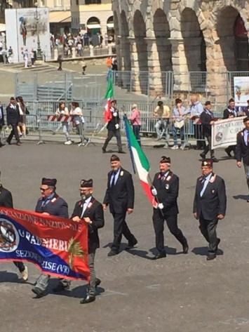 La sfilata a Verona