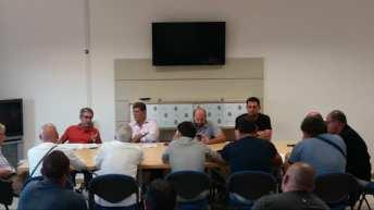 La riunione in Comune il 17 scorso