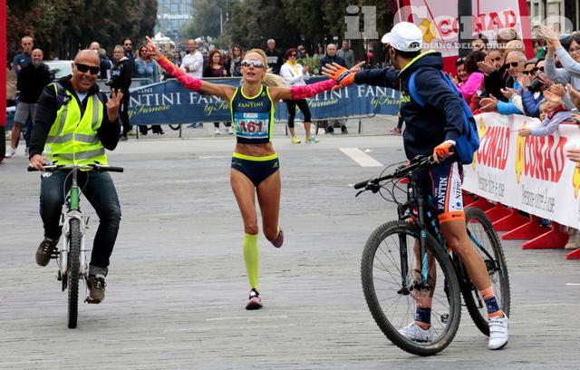 Daniela Hajnal prima a Pescara