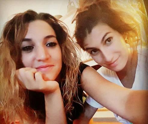 Noemi e la sorella Benedetta Durini