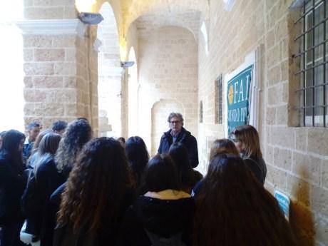 Giancarlo De Pascalis incontra i giovani ospiti