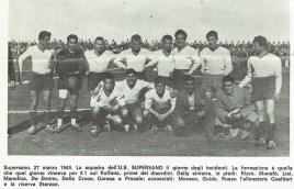 1949, la squadra del Supersano