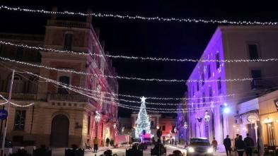 Casarano, Natale 2018 (foto Pejrò)