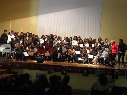 Casarano, istituto Montalcini, giornata contro la violenza sulle donne (3)