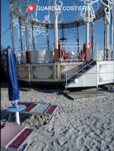 Cassa armonica sequestrata a Porto Cesareo (2)