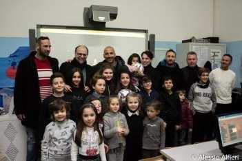 """I rappresentanti del Nardò Calcio alla scuola primaria """"Don Bosco"""""""