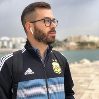 Il neretino Raffaele Pappadà, telecronista per Dazn