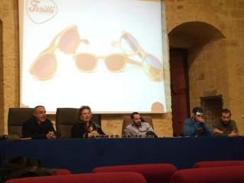 Presentazione occhiali Cristiano Ferilli 1