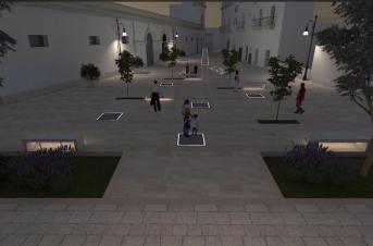 Il progetto di riqualificazione di piazza Caduti di via Fani