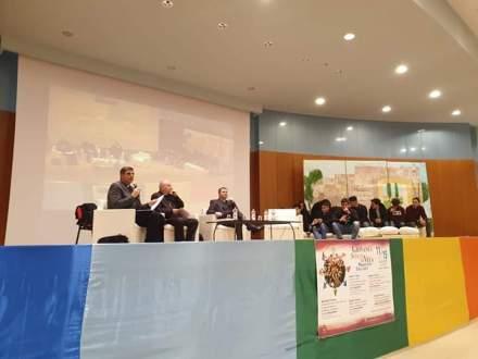 Da sinistra don Stefano Ancora, don Rossano Sala e don Biagio Errico