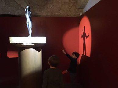 La riproduzione dello Zeus al museo di Ugento