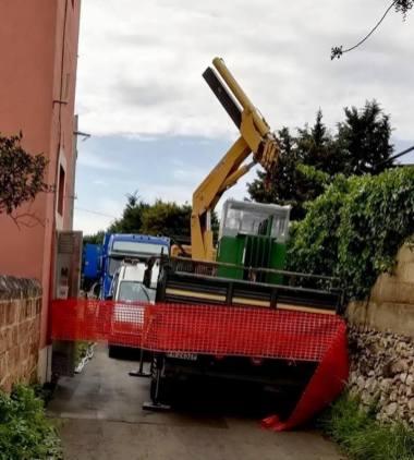 Il generatore di corrente a Chiesanuova